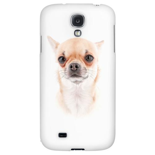 Chihuahua - Geeks Designer Line Puppy Series Hard Back Case for Samsung Galaxy S4
