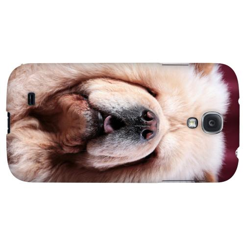 Chow Chow - Geeks Designer Line Puppy Series Hard Back Case for Samsung Galaxy S4
