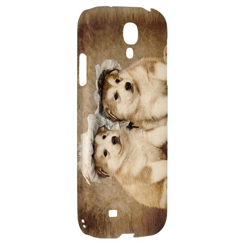 Alaskan Malamute - Geeks Designer Line Puppy Series Hard Back Case for Samsung Galaxy S4