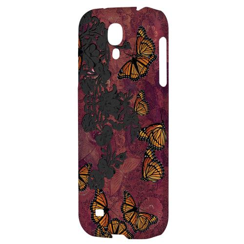 Butterflies on Parade - Geeks Designer Line Asian Print Series Hard Back Case for Samsung Galaxy S4