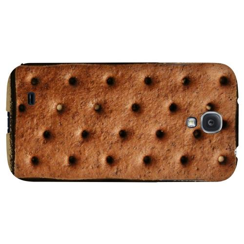Ice Cream Sandwich - Geeks Designer Line Candy Series Hard Back Case for Samsung Galaxy S4