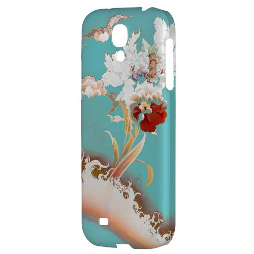 Flower Wave - Geeks Designer Line Asian Print Series Hard Back Case for Samsung Galaxy S4