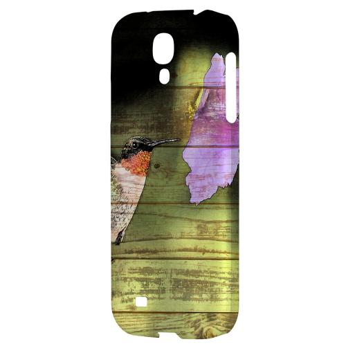 Hummingbird - Geeks Designer Line Asian Print Series Hard Back Case for Samsung Galaxy S4