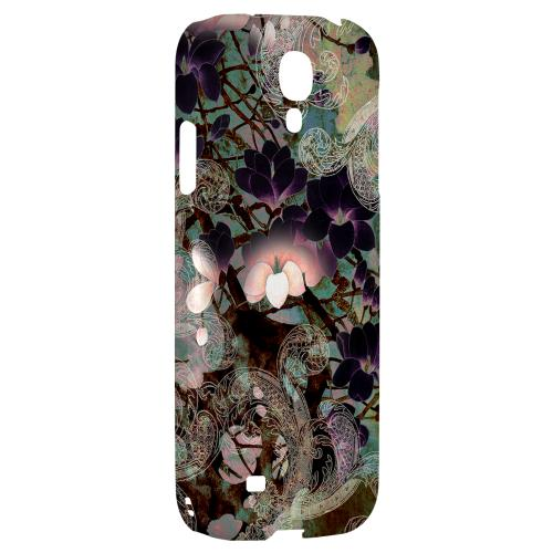 Lacy Flowers - Geeks Designer Line Asian Print Series Hard Back Case for Samsung Galaxy S4