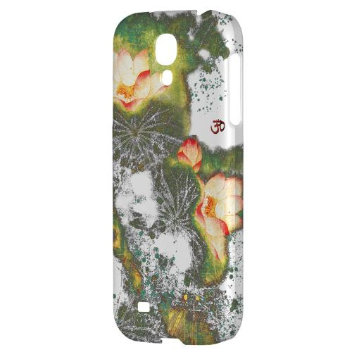 Lotus Flowers - Geeks Designer Line Asian Print Series Hard Back Case for Samsung Galaxy S4
