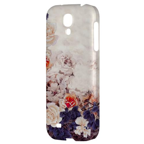 Vintage Roses - Geeks Designer Line Asian Print Series Hard Back Case for Samsung Galaxy S4