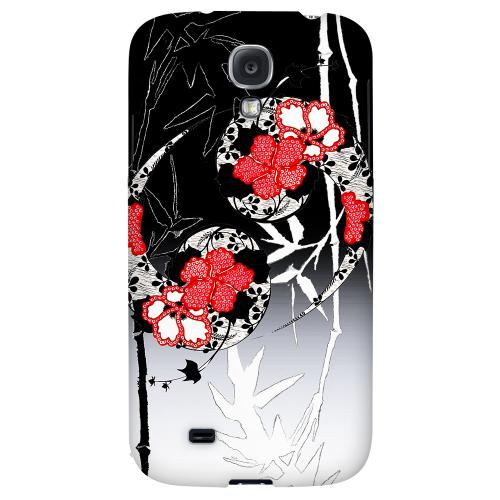 Bamboo Yin Yang - Geeks Designer Line Asian Print Series Hard Back Case for Samsung Galaxy S4