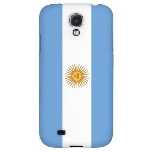 Argentina - Geeks Designer Line Flag Series Hard Back Case for Samsung Galaxy S4