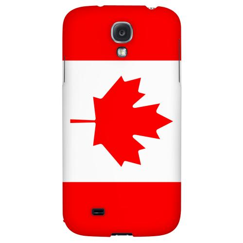 Canada - Geeks Designer Line Flag Series Hard Back Case for Samsung Galaxy S4