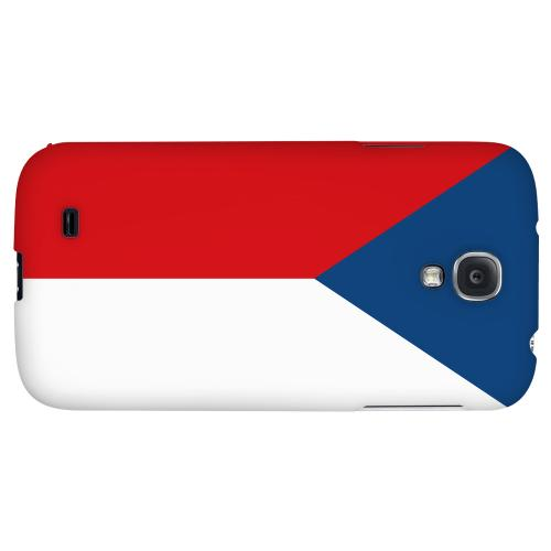 Czech Republic - Geeks Designer Line Flag Series Hard Back Case for Samsung Galaxy S4