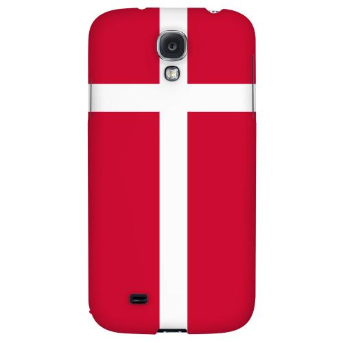 Denmark - Geeks Designer Line Flag Series Hard Back Case for Samsung Galaxy S4