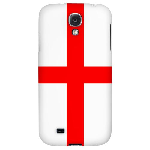 England - Geeks Designer Line Flag Series Hard Back Case for Samsung Galaxy S4