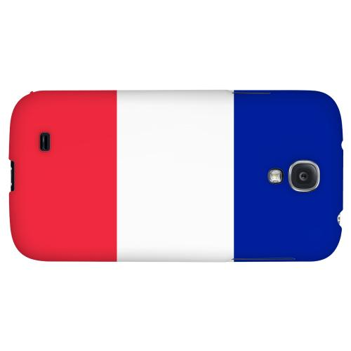 France - Geeks Designer Line Flag Series Hard Back Case for Samsung Galaxy S4