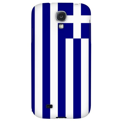 Greece - Geeks Designer Line Flag Series Hard Back Case for Samsung Galaxy S4