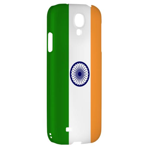 India - Geeks Designer Line Flag Series Hard Back Case for Samsung Galaxy S4