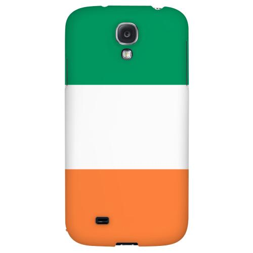 Ireland - Geeks Designer Line Flag Series Hard Back Case for Samsung Galaxy S4