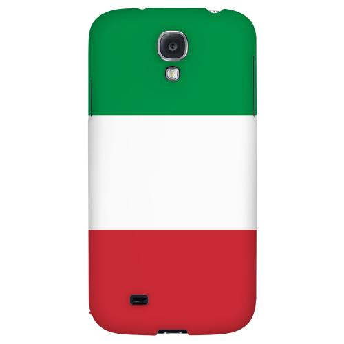 Italy - Geeks Designer Line Flag Series Hard Back Case for Samsung Galaxy S4