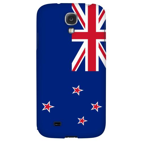 New Zealand - Geeks Designer Line Flag Series Hard Back Case for Samsung Galaxy S4