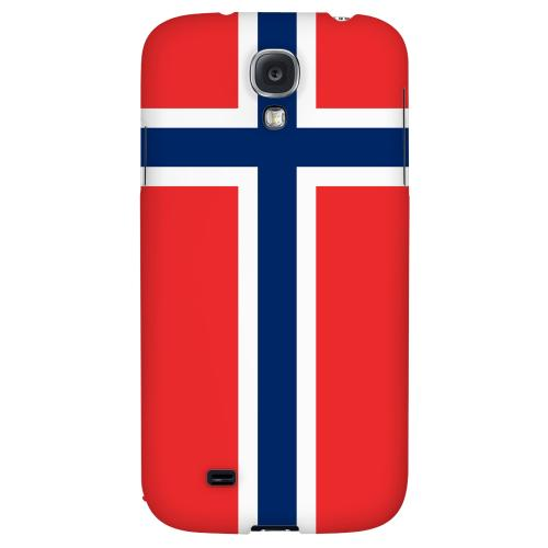 Norway - Geeks Designer Line Flag Series Hard Back Case for Samsung Galaxy S4