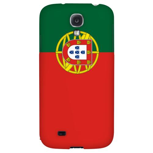 Portugal - Geeks Designer Line Flag Series Hard Back Case for Samsung Galaxy S4
