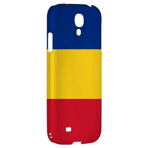 Romania - Geeks Designer Line Flag Series Hard Back Case for Samsung Galaxy S4