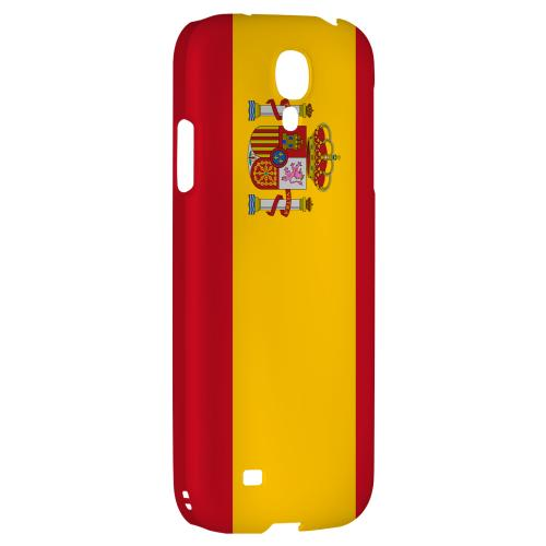 Spain - Geeks Designer Line Flag Series Hard Back Case for Samsung Galaxy S4