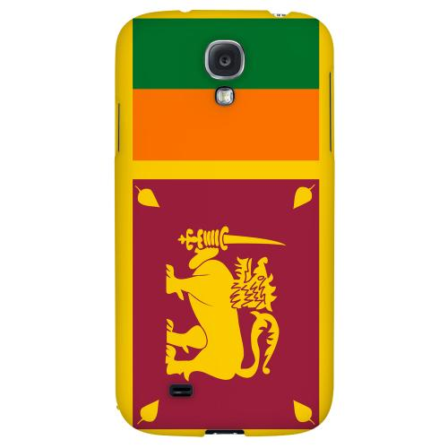 Sri Lanka - Geeks Designer Line Flag Series Hard Back Case for Samsung Galaxy S4