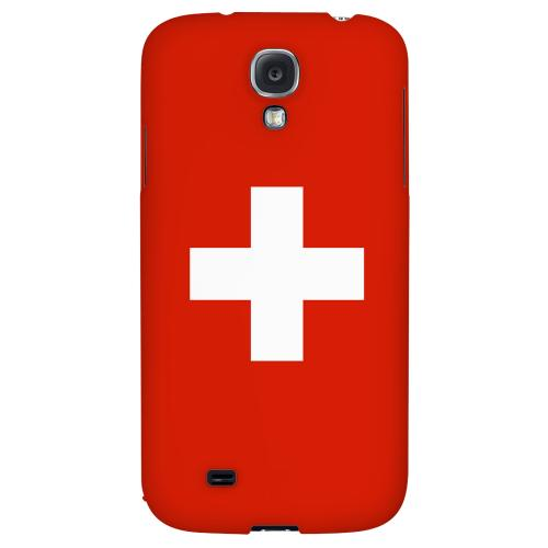 Switzerland - Geeks Designer Line Flag Series Hard Back Case for Samsung Galaxy S4