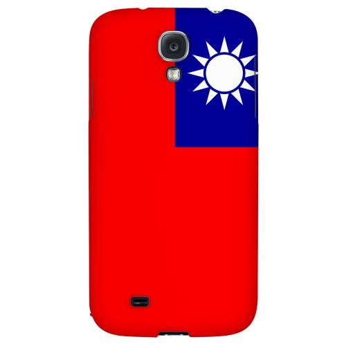 Taiwan - Geeks Designer Line Flag Series Hard Back Case for Samsung Galaxy S4