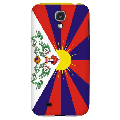 Tibet - Geeks Designer Line Flag Series Hard Back Case for Samsung Galaxy S4