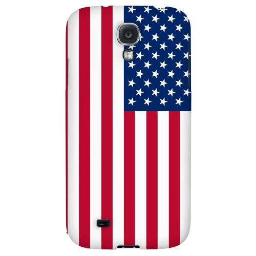 United States - Geeks Designer Line Flag Series Hard Back Case for Samsung Galaxy S4