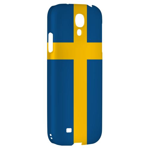 Sweden - Geeks Designer Line Flag Series Hard Back Case for Samsung Galaxy S4