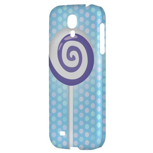 Purple Lollipop - Geeks Designer Line Candy Series Hard Back Case for Samsung Galaxy S4
