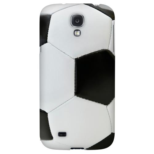 Soccer Ball - Geeks Designer Line Sports Series Hard Back Case for Samsung Galaxy S4