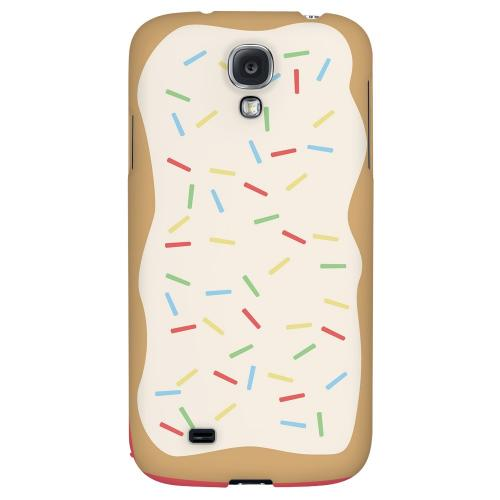 Toaster Pastry w/Sprinkles - Geeks Designer Line Candy Series Hard Back Case for Samsung Galaxy S4