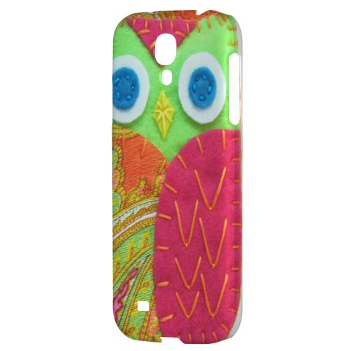 Neon Green/ Pink - Geeks Nation Program Jodie Rackley Series Hard Back Case for Samsung Galaxy S4