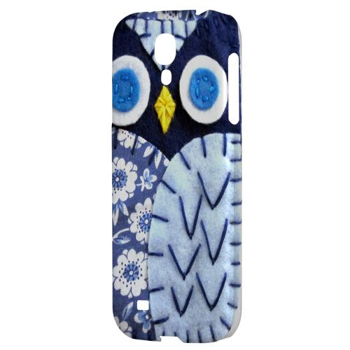 Night Blue Owl - Geeks Nation Program Jodie Rackley Series Hard Back Case for Samsung Galaxy S4