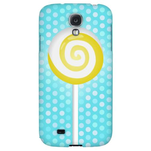 Yellow Lollipop - Geeks Designer Line Candy Series Hard Back Case for Samsung Galaxy S4