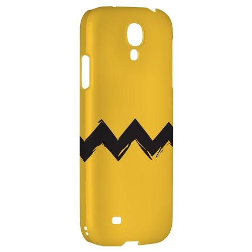 Yellow Good Grief! - Geeks Designer Line Zig Zag Series Hard Back Case for Samsung Galaxy S4