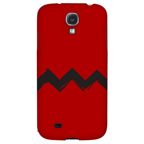Red Good Grief! - Geeks Designer Line Zig Zag Series Hard Back Case for Samsung Galaxy S4