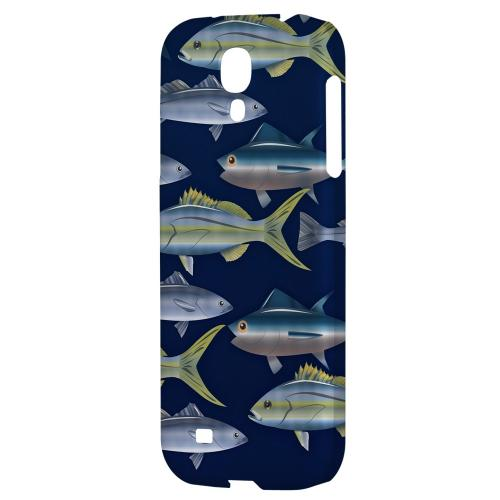 Assorted Fish in the Sea - Geeks Designer Line Fish Series Hard Back Case for Samsung Galaxy S4