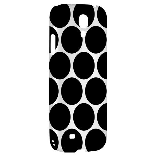 Big & Black - Geeks Designer Line Polka Dot Series Hard Back Case for Samsung Galaxy S4