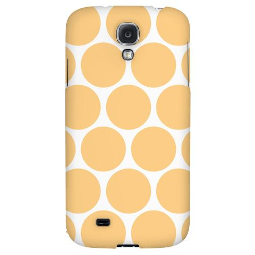 Big & Orange - Geeks Designer Line Polka Dot Series Hard Back Case for Samsung Galaxy S4