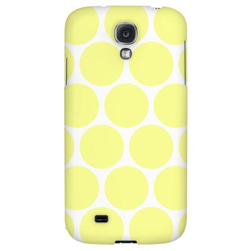 Big & Yellow - Geeks Designer Line Polka Dot Series Hard Back Case for Samsung Galaxy S4
