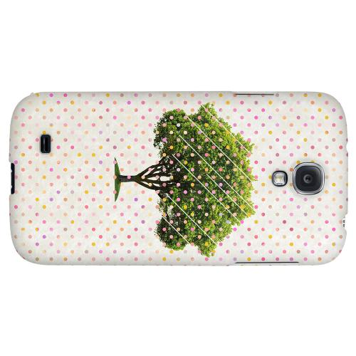 Tree - Geeks Designer Line Polka Dot Series Hard Back Case for Samsung Galaxy S4