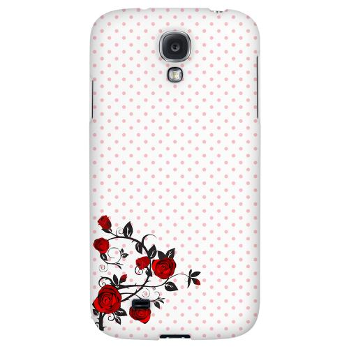 Rose Vine - Geeks Designer Line Polka Dot Series Hard Back Case for Samsung Galaxy S4