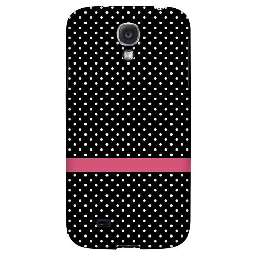 Pink Horizontal Stripe - Geeks Designer Line Polka Dot Series Hard Back Case for Samsung Galaxy S4
