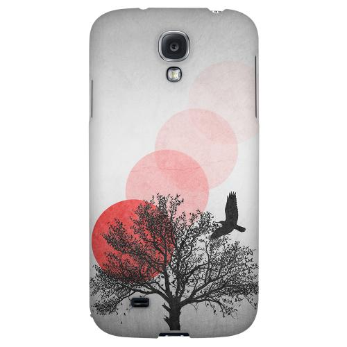 Sunset Fade - Geeks Designer Line Polka Dot Series Hard Back Case for Samsung Galaxy S4