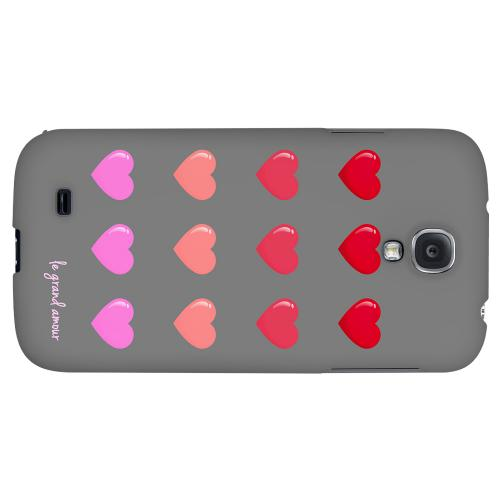 Le Grand Amour - Geeks Designer Line Heart Series Hard Back Case for Samsung Galaxy S4