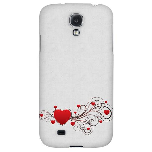 Love Bloom - Geeks Designer Line Heart Series Hard Back Case for Samsung Galaxy S4